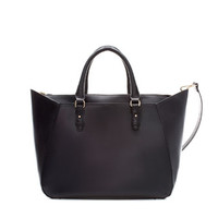 SHOPPER BAG WITH STRAP - Large handbags - Handbags - Woman | ZARA United Kingdom