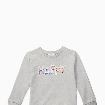 toddlers' happy sweatshirt