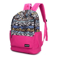 Comfort College On Sale Casual Stylish Back To School Hot Deal Canvas Unisex Backpack [6582231943]