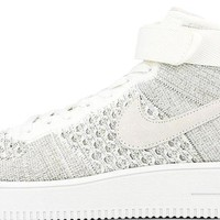 BC SPBEST Nike Air Force 1 Mid Flyknit Off White