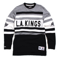Los Angeles Kings Open Net Longsleeve Black / Grey