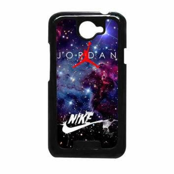 VONR3I Nike Air Jordan Jump Man Air Nebula HTC One X Case