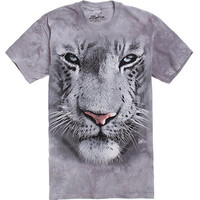 The Mountain White Tiger Face Tee at PacSun.com