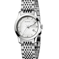 Gucci G-Timeless Stainless Steel Watch, 27 mm