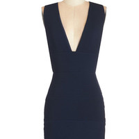 Sleeveless Bodycon Tonight is Young Dress