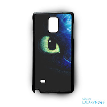 One Eyes Night Furry How Do You Train The Dragon for Samsung Galaxy Note 2/Note 3/Note 4/Note 5/Note Edge phone case