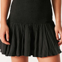 Kimchi Blue Haystack Smocked Mini Skirt - Urban Outfitters