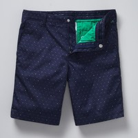 The Barton Short - Navy Dot