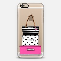 Kate spade (transparent) iPhone 6s case by the pretty pink studio | Casetify