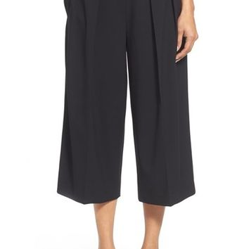 Vince Camuto Pleat Front Culottes | Nordstrom