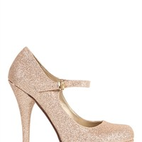 Glitter Mary Jane Pump