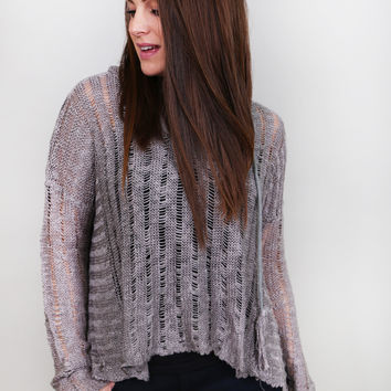 Out & About Knit {Gray}
