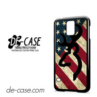 Browning Deer Camo America Flag For Samsung Galaxy S5 Case Phone Case Gift Present