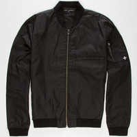 Tavik Mens Bomber Jacket Black  In Sizes