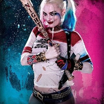 diy 5d  Diamond embroidery square full decorative diamond painting Harley Quinn Suicide Squad Superhero diamond cross stitch
