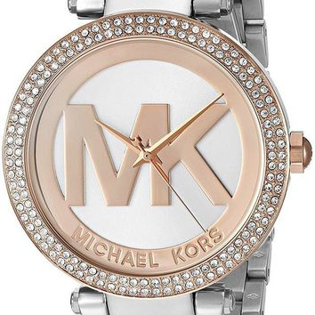 DCCK2JE Michael Kors Women's Two-Tone Parker Watch