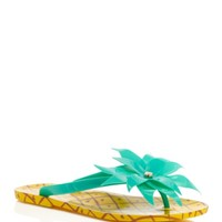 kate spade new york Flynn Pineapple Flip Flops | Bloomingdales's