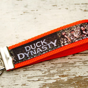 Duck Dynasty Inspired Camo Key Fob Keychain