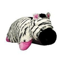 Pee Wee Genuine Pillow Pet ZEBRA Small 11