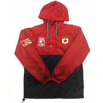 2.0 World Famous Rain Jacket (RED/BLACK) RISING SUN
