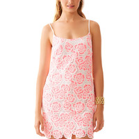 Lilly Pulitzer Beth Spaghetti Strap Lace Slip Dress