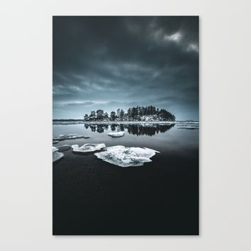 Only pieces left Canvas Print by happymelvin