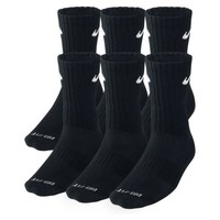Nike Dri-FIT Cushion Crew Training Socks (Large/6 Pair). Nike.com