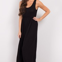Black-Basic-Maxi-Dress
