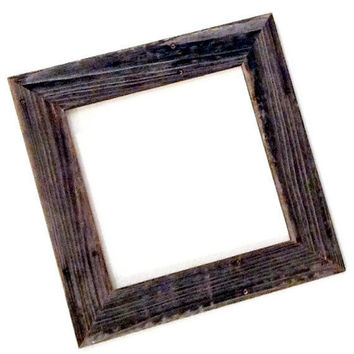 Reclaimed Wood Frame Choose Your Size, Made to Order by RestorationHarbor