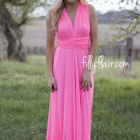 All The Ways to my Heart Neon Maxi