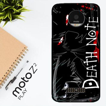 Death Note Anime Z0463 Motorola Moto Z2 Play Case