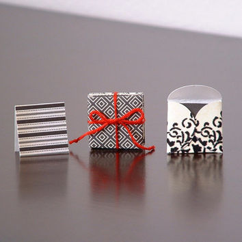 Mini Gift Tags and Envelopes, Tiny Note Cards with Envelopes, Jewelry Box Tags