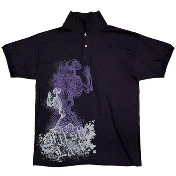 From First To Last - Skeleton Polo Shirt