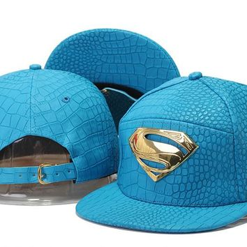 Dc Comics Hero Post Snapback Cap Snapback Hat - Ready Stock