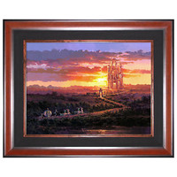 Limited Edition Disney Fine Art Legacy ''Castle at Sunset'' Cinderella Giclée on Canvas | Disney Store