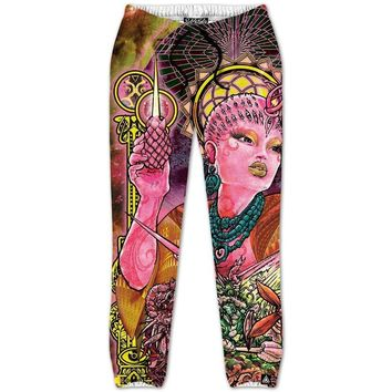 QUEEN OF THE COSMOSIS JOGGERS
