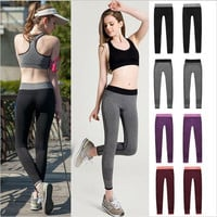 2016 Women Sport Leggings For Yuga Running Training Bodybuilding Fitness Clothing Gym Clothes For Women Pants Elastic Jegging