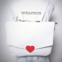 HARAJUKU LOVE LETTER BACKPACK sold by Red22apple