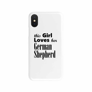 German Shepherd - Phone Case