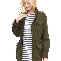 Banana Republic Womens Military Jacket