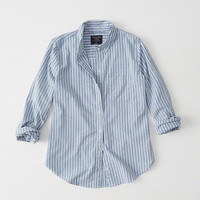 Womens Oxford Shirt | Womens Tops | Abercrombie.com