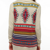 Urban Outfitters - Ecote Intarsia Cardigan