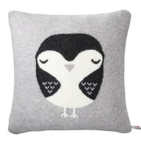 Robin Cushion - Grey (With Insert)