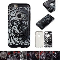 graffiti girl pattern Case for iphone 6 Back Cover For iphone 6s case Mobile phone shell for iphone6 cases for iphone6s