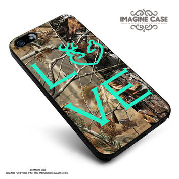 Love Deer Camo case cover for iphone, ipod, ipad and galaxy series