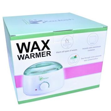 Karlash Wax Warmer Hair Removal Kit with Hard Wax Beans and Wax Applicator Sticks