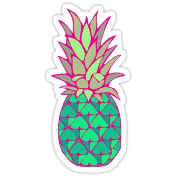 Colorful Pineapple From Redbubble Epic Wishlist
