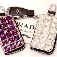 Car Key Cases Rhinestone Car Key Sets (purple)
