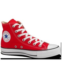 Red High Top Chuck Taylor Shoes : Converse Shoes | Converse.com