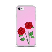 Rose iPhone Case Pink